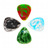 Resin Tones Mixed Pack of 4 Guitar Picks